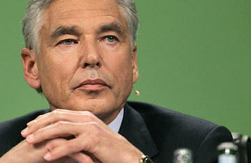 Peter Brabeck, Chairman of Nestlé