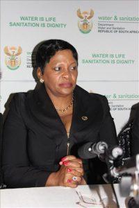 South African Minister Mokonyane