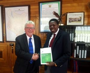 Kenya Cabinet Secretary for Water and Irrigation Eugene Wamalwa