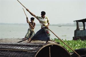 Houseboat Meghna River Bangladesh