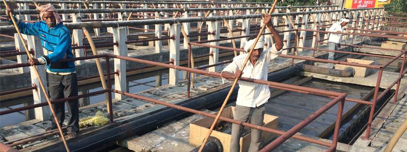 Ganga - Sewage Treatment Plant Saharanpur - Hindon basin - Annelieke Laninga - 7 Nov 2015