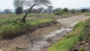 Tanzania dry river