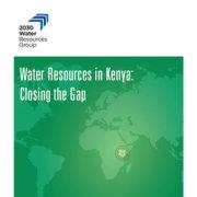 Water Resources in Kenya: Closing the Gap