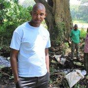 Ernest, a smallholder farmer from Kiwawa Village in Usa-River, Tanzania