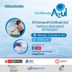 Blue Certificate Awarding 2021